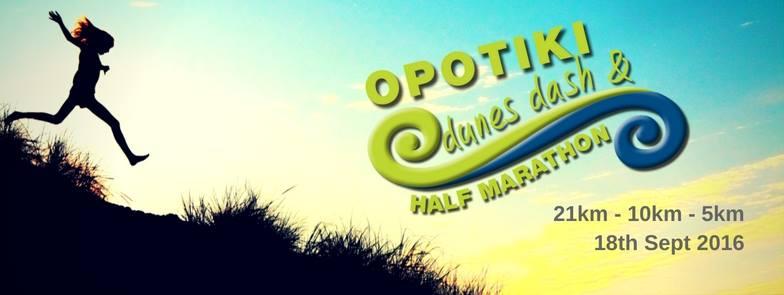 Opotiki Dunes Dash and Half Marathon