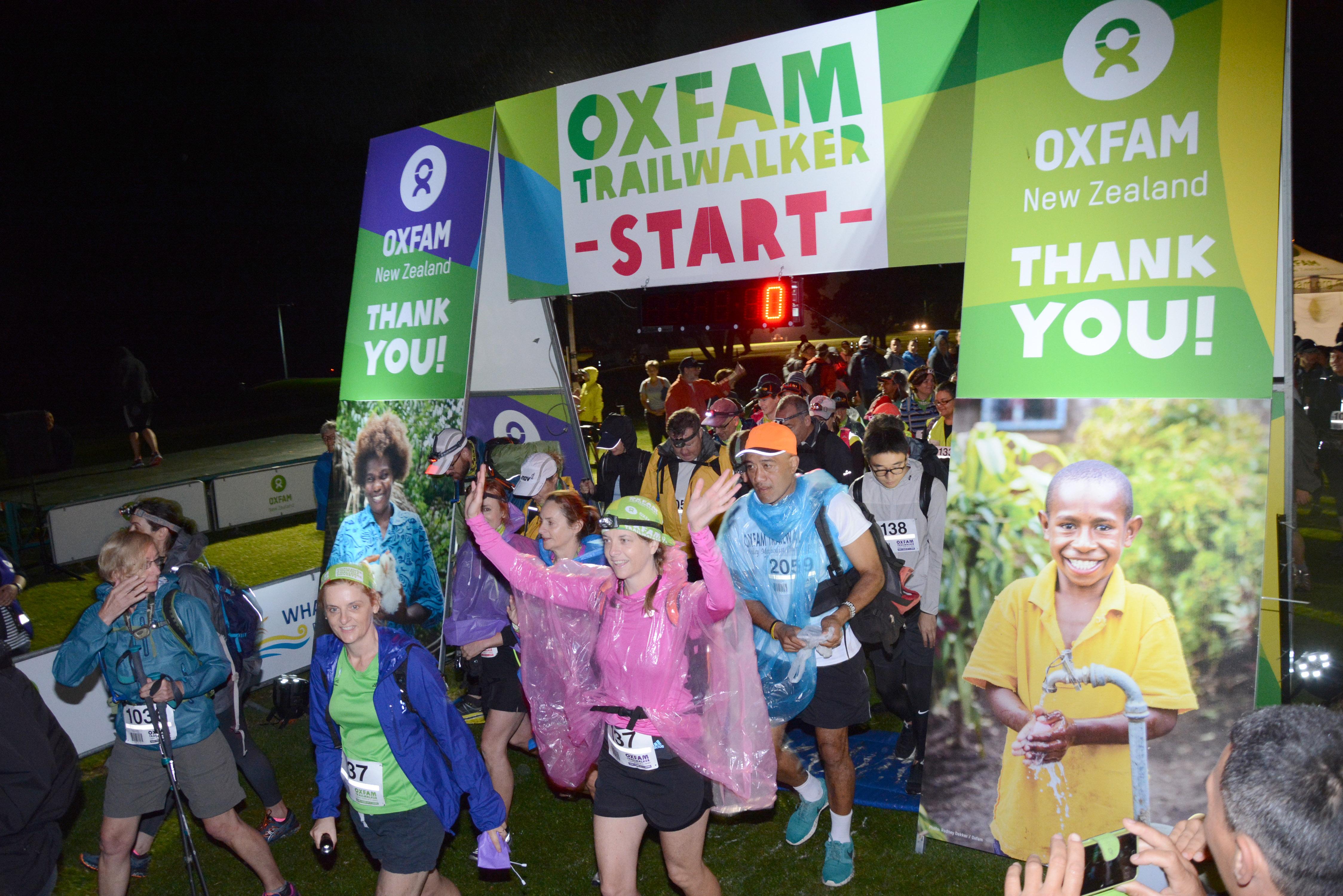Oxfam Trailwalker Information Evening