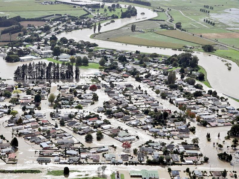 Flooding anniversary marked