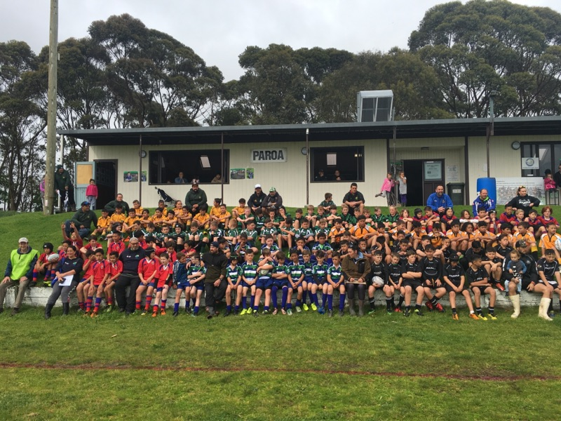 Grass roots rugby festival a hit in Whakatane