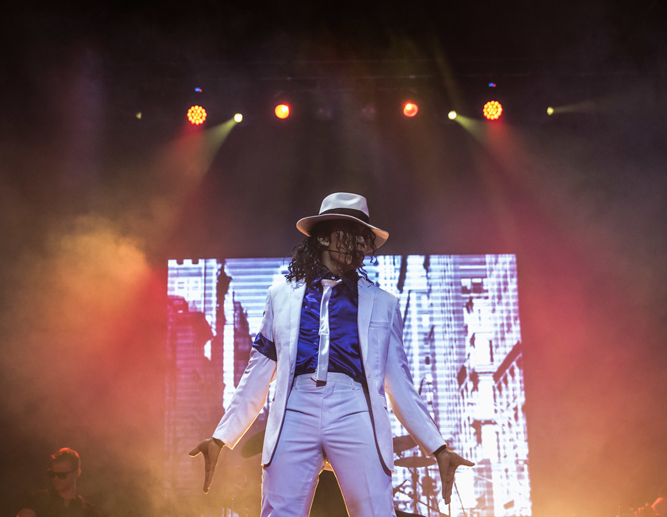 Michael Jackson History Show to Moonwalk  into town