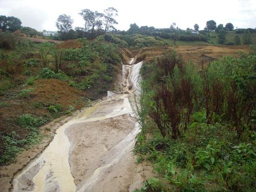 Waiotahi Contractors fined for contaminating stream