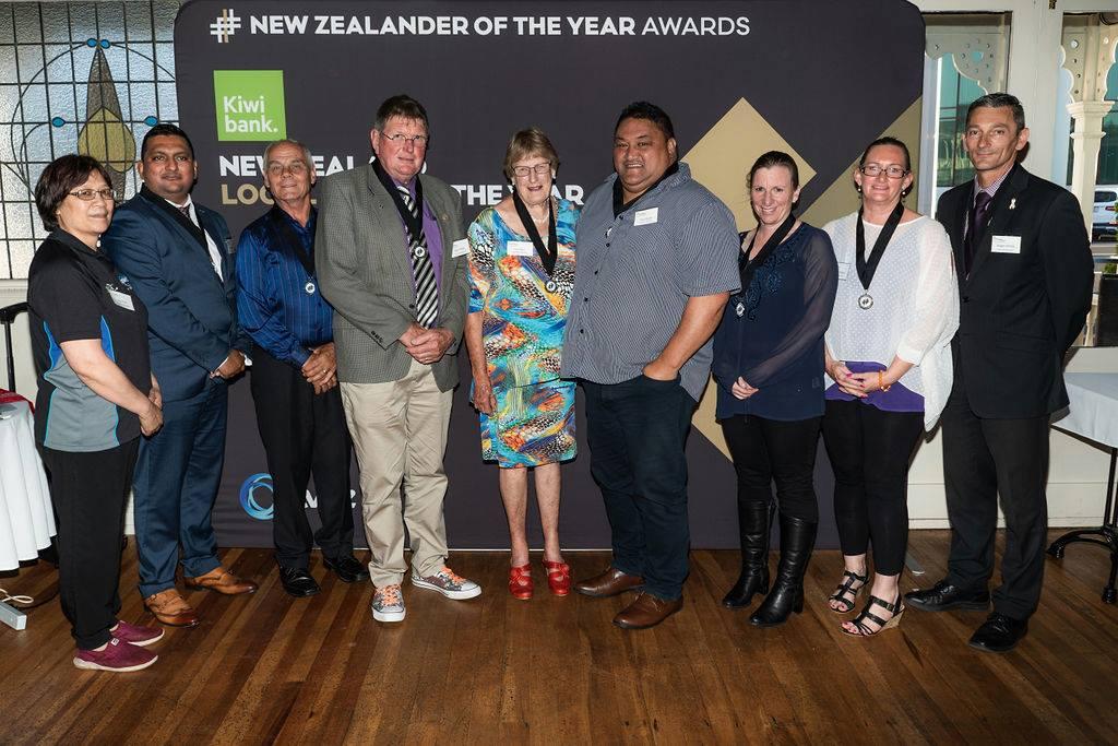 Whakatane 2019 Kiwibank local hero medal winners
