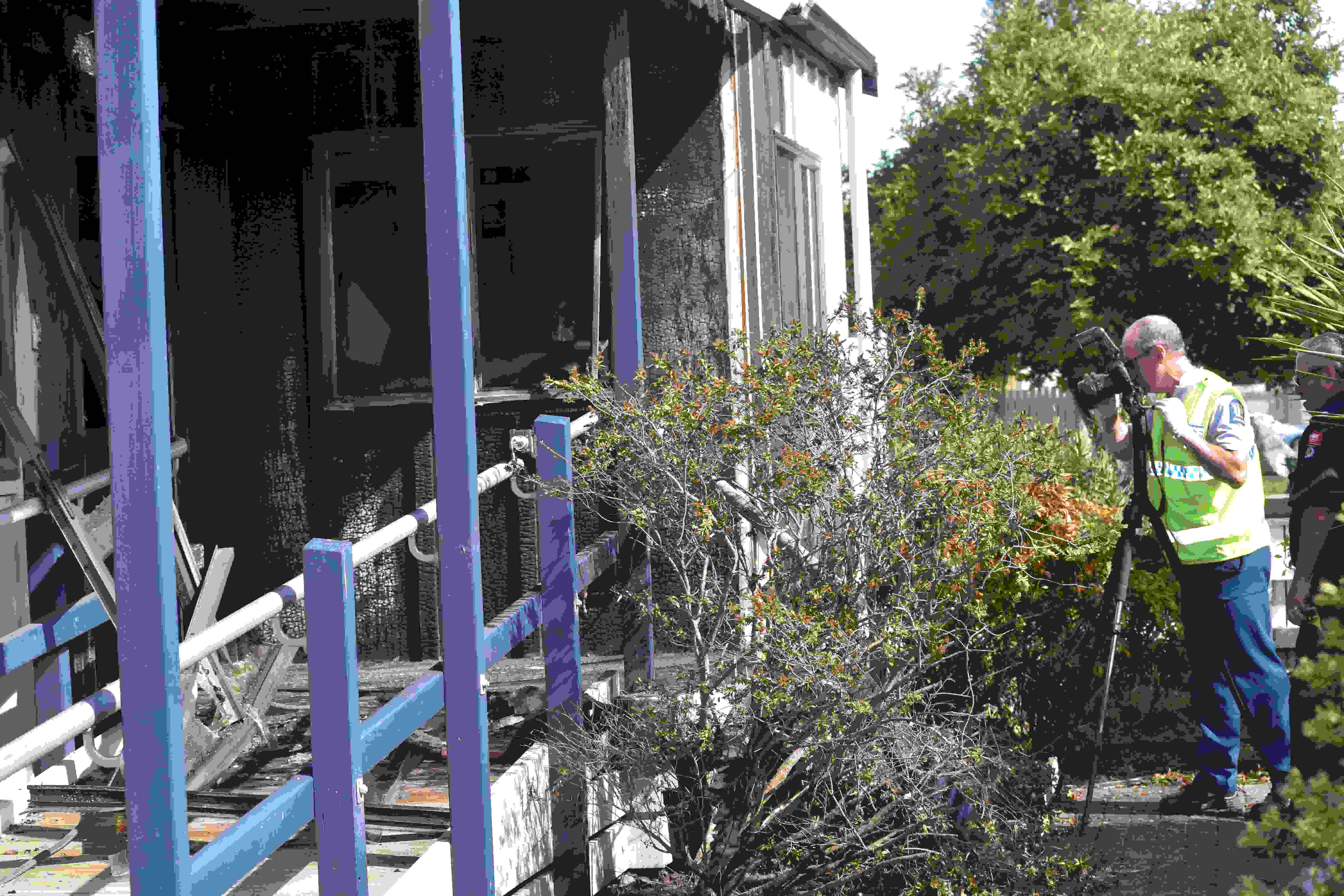 Investigation launched after fire destroys Taneatua Police Station
