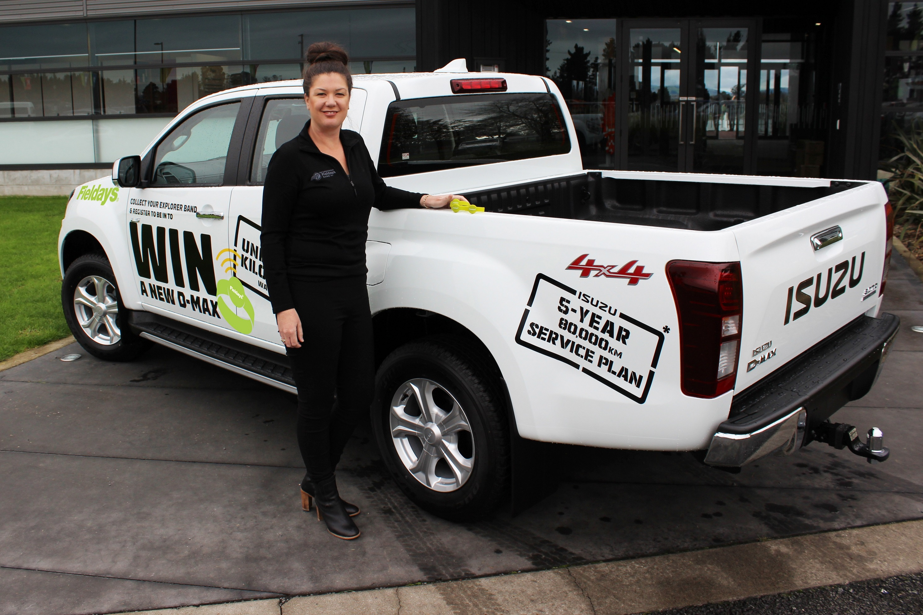Win a ute at Fieldays